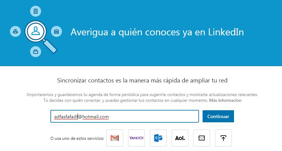 Como conocer tus tipos de contactos en Linkedin