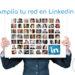 Portada post tipos de contactos en linkedin