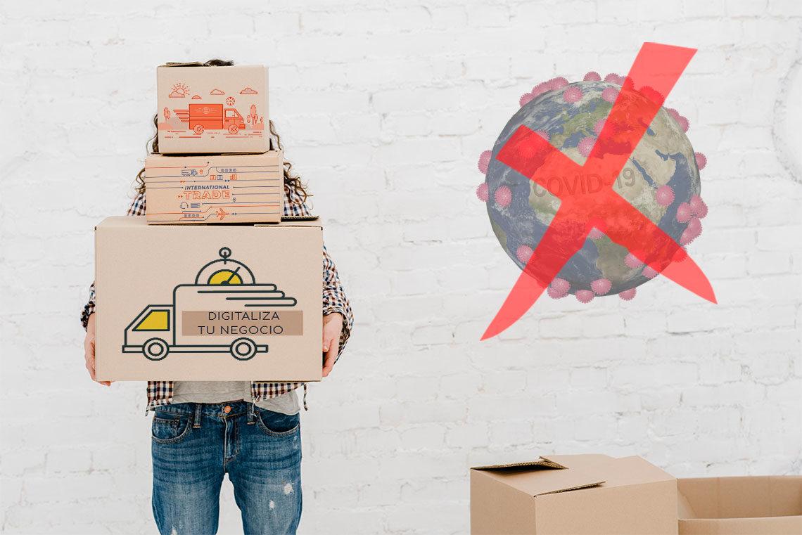 Digitaliza tu negocio para vencer la crisis del coronavirus