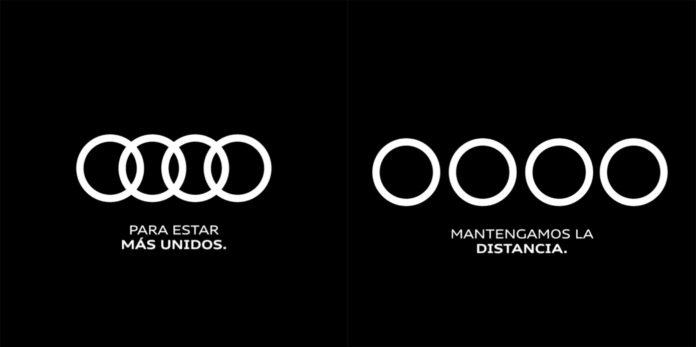 Marketing y coronavirus de Audi