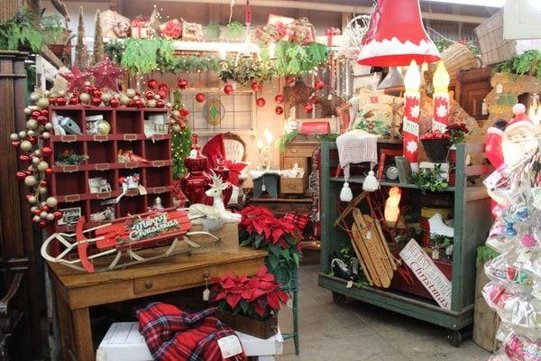 Decoración navideña como técnica de marketing navideño de última hora